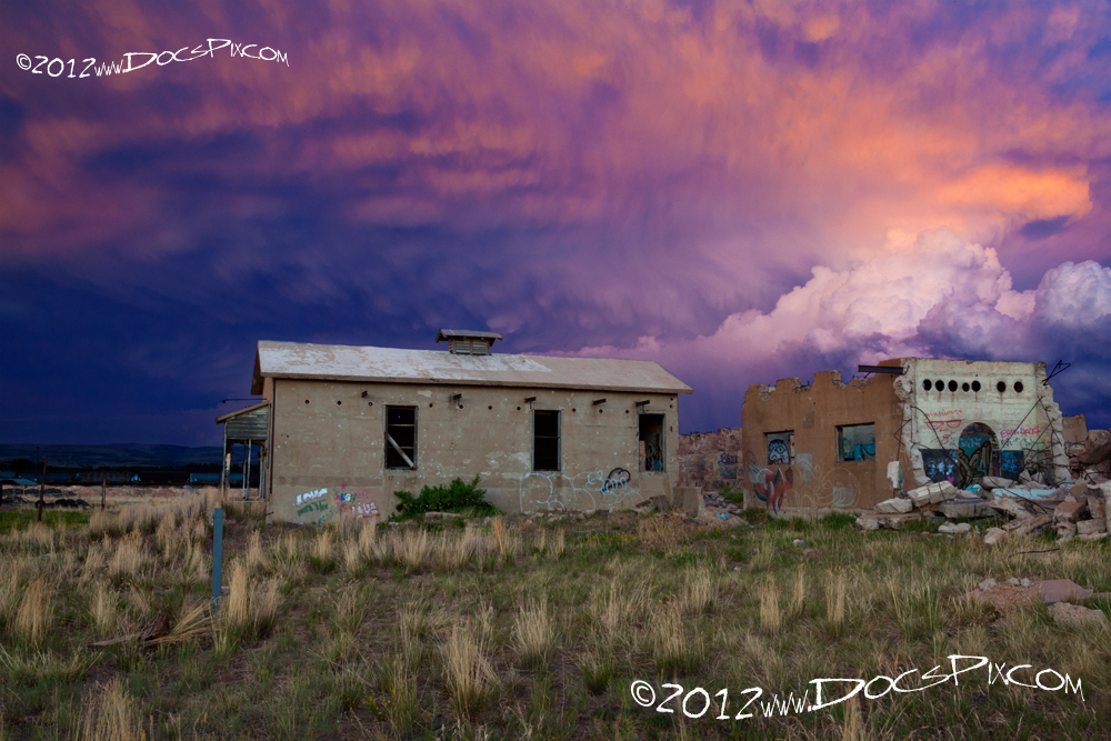 This image was made one evening this past summer during when the forest west of town was ablaze.