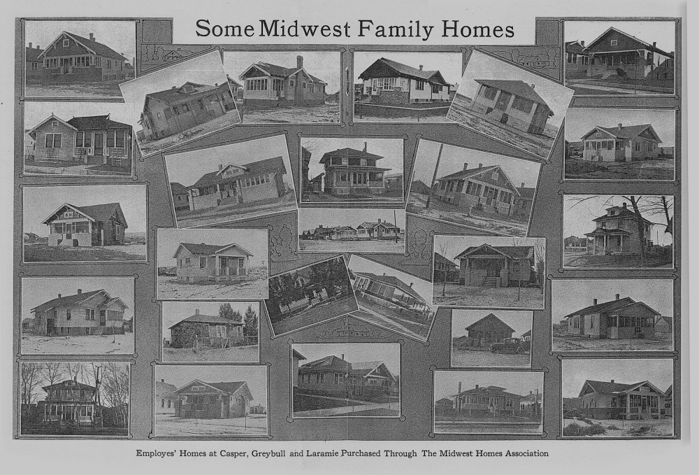 This is a scanned copy of pages 18 & 19 of the January, 1921 edition of the Midwest Review.