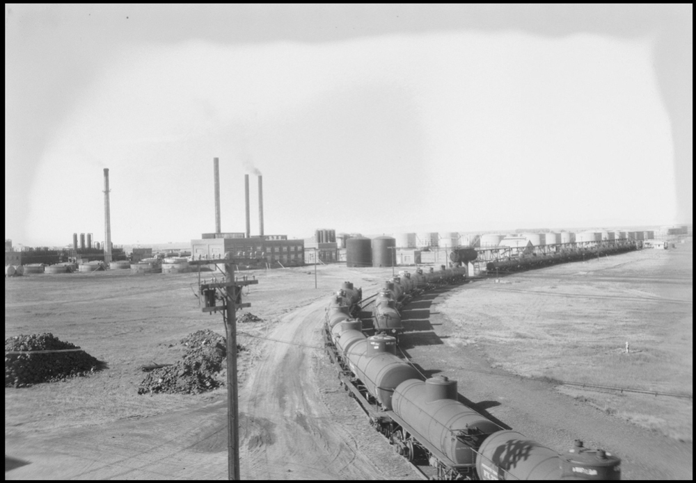 Another view from the east along one of the UPRR spurs. (Circa 1928)