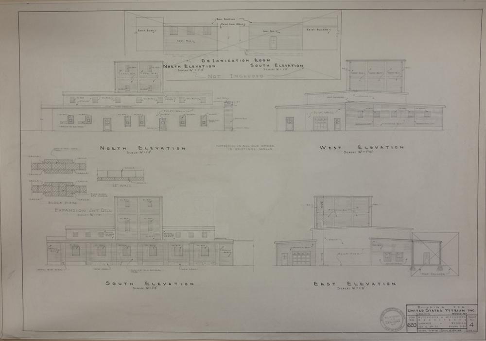 US Yttrium Exterior Elevation Sheet, Full size