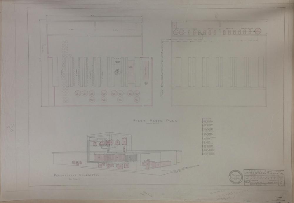 Sheet two U.S Yttrium Plans; full sheet